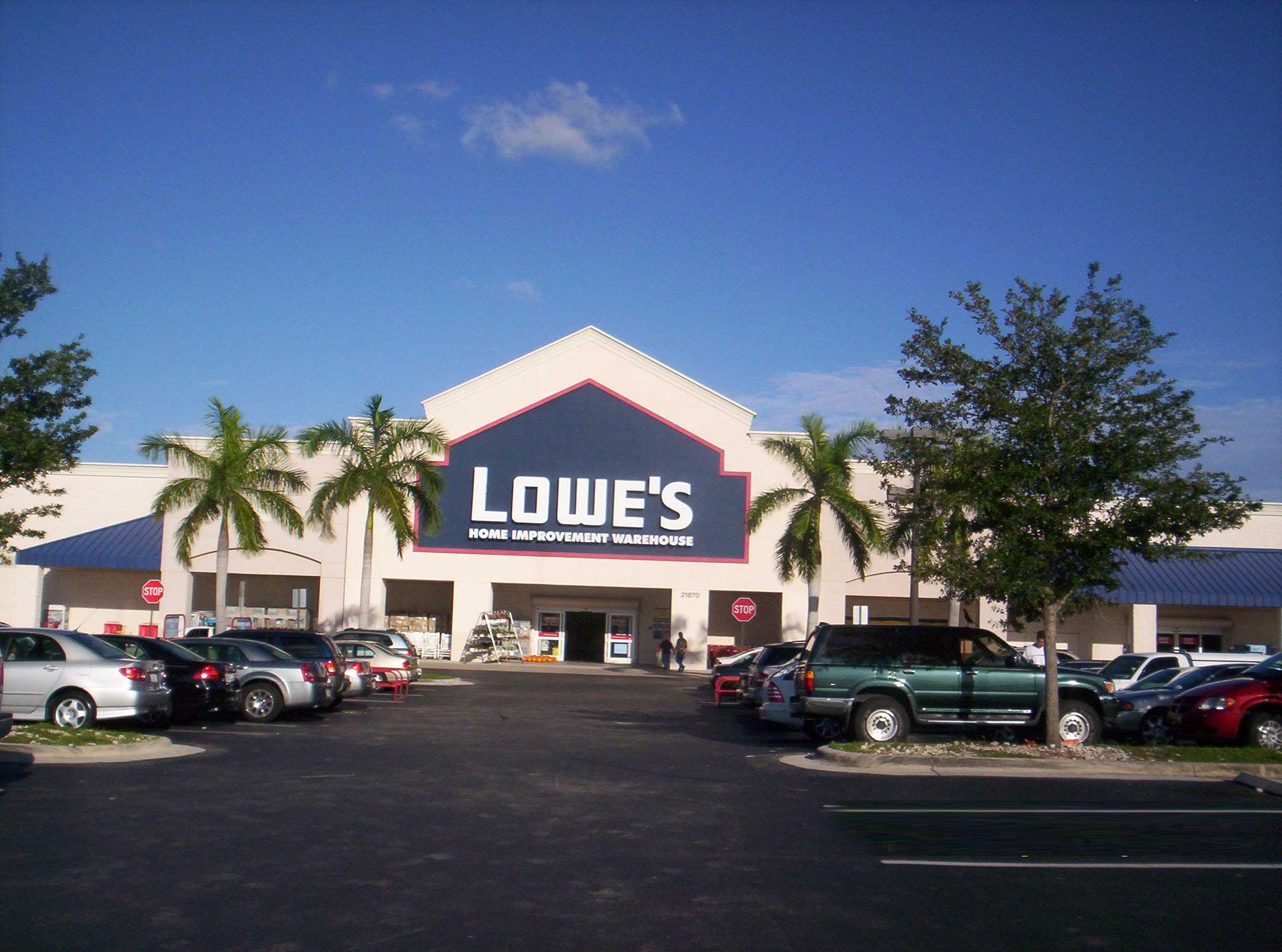 lowe s Subject to credit approval get 5% off your eligible purchase or order charged to your lowe's business rewards card from american express, lowe's business account or lowe's accounts receivable.